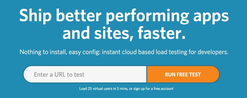 Test Site Speed with LoadImpact