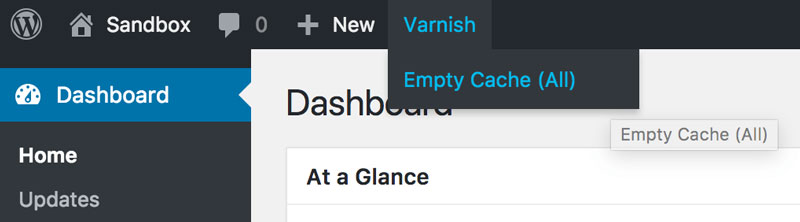 Varnish Empty Cache?