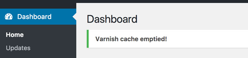Varnish Dashboard