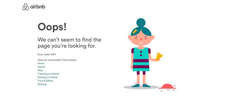 AirBnb 404 Example