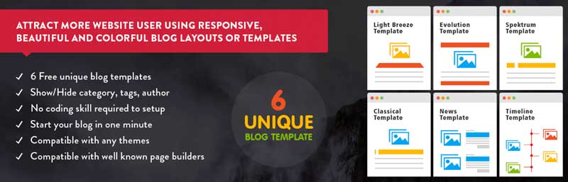 Blog designer plugin