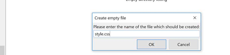 Create style.css