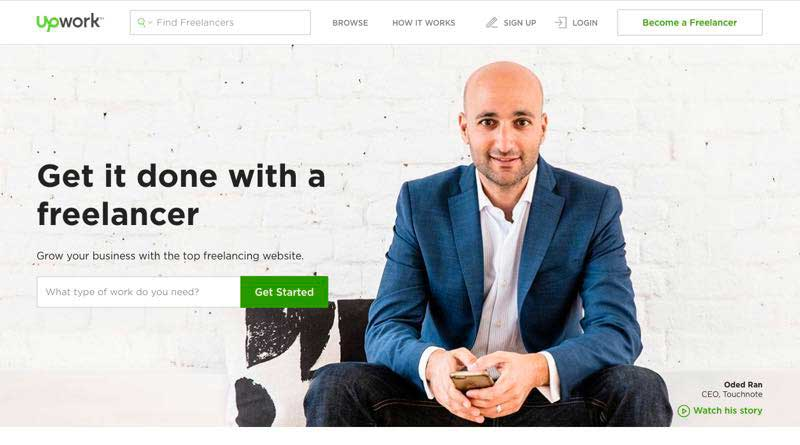 Upwork is a great to find WordPress theme developers