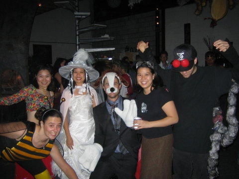 Bee, Belly Dancer, Witch Bride, Dog Groom, Fly, Spider!