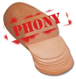 Phoney Baloney.  Get it?