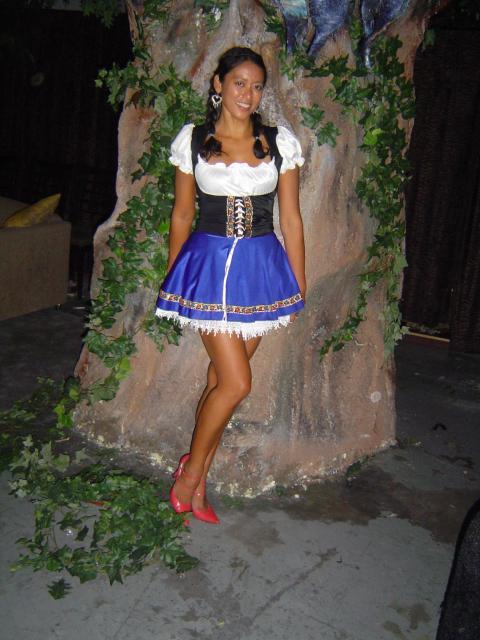 St Pauli Girl Against Tree?!