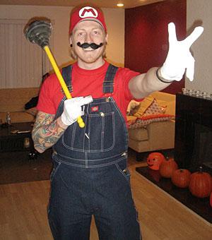 Mario lovesa da peace!
