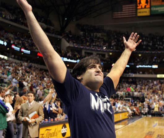 Mark Cuban is round.