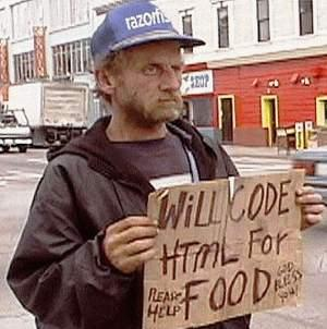 HTML is hardly code.