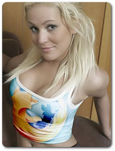 Me + Web Browser = Instant Orgy!