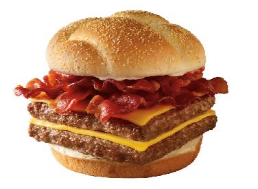 "If only every sandwich were called the ""baconator""."