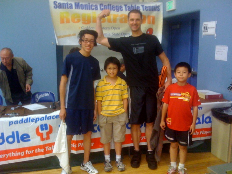 Ken, Andrew (the winner), Josh, and David!