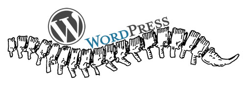 WordPress is the backbone!