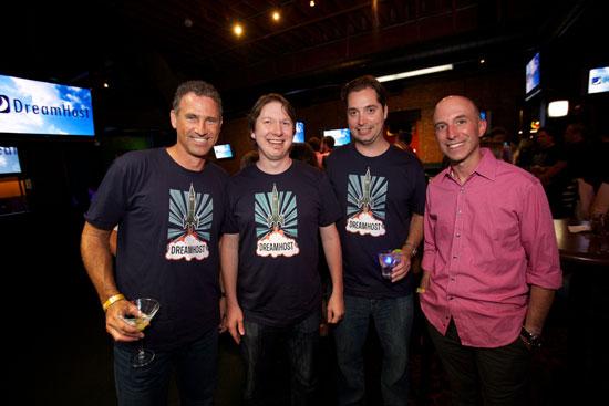 Simon, Dallas, Brett, and William Toll from Yottaa.com