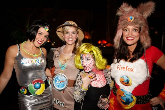 Comic Book Girl and Browsers!