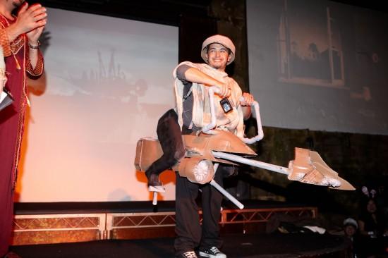 Javier wins best costume.  Again!