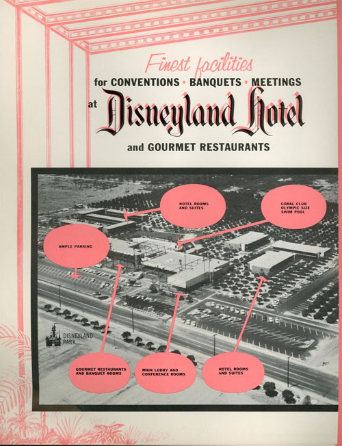 The Disneyland Hotel!  Looks a little different today, though...