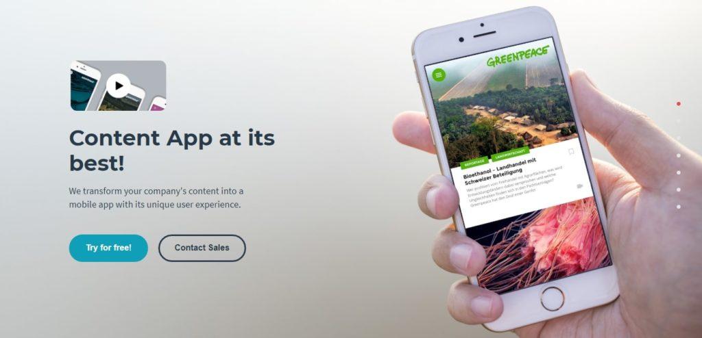 Appful content app.