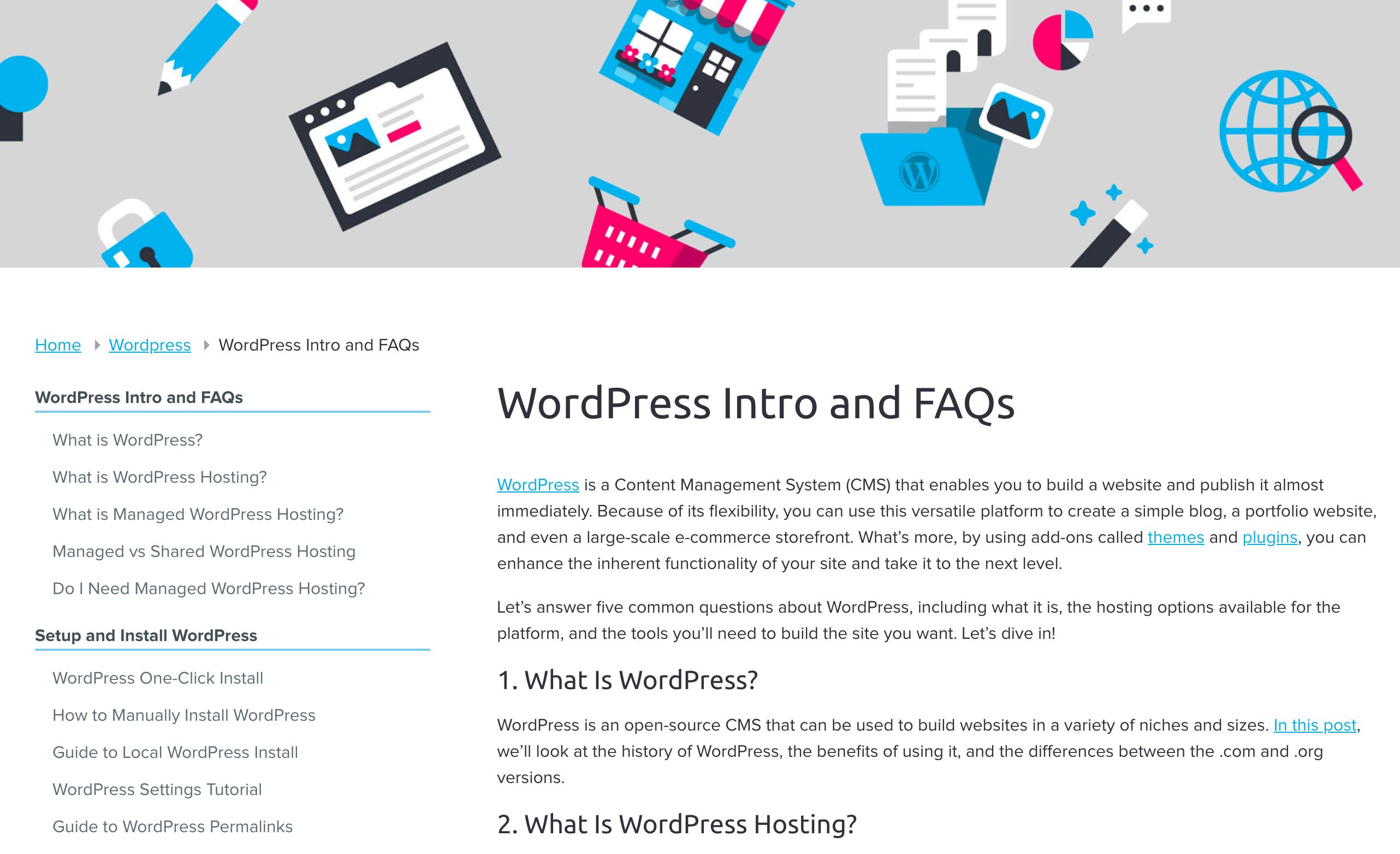 DreamHost WordPress guides tutorial