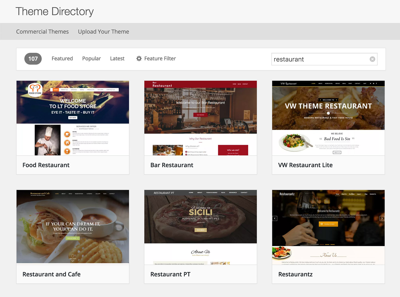 Guidelines for WordPress Theme DreamHost
