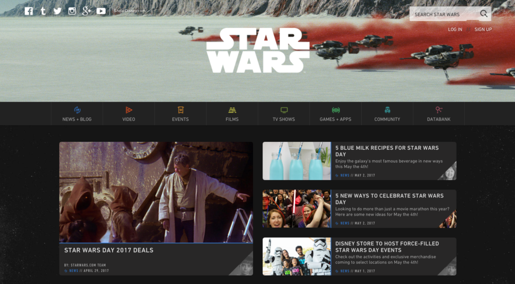 StarWars.com Homepage