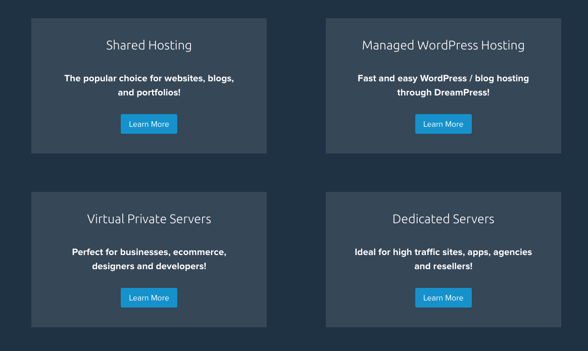 DreamHost Hosting Options.png