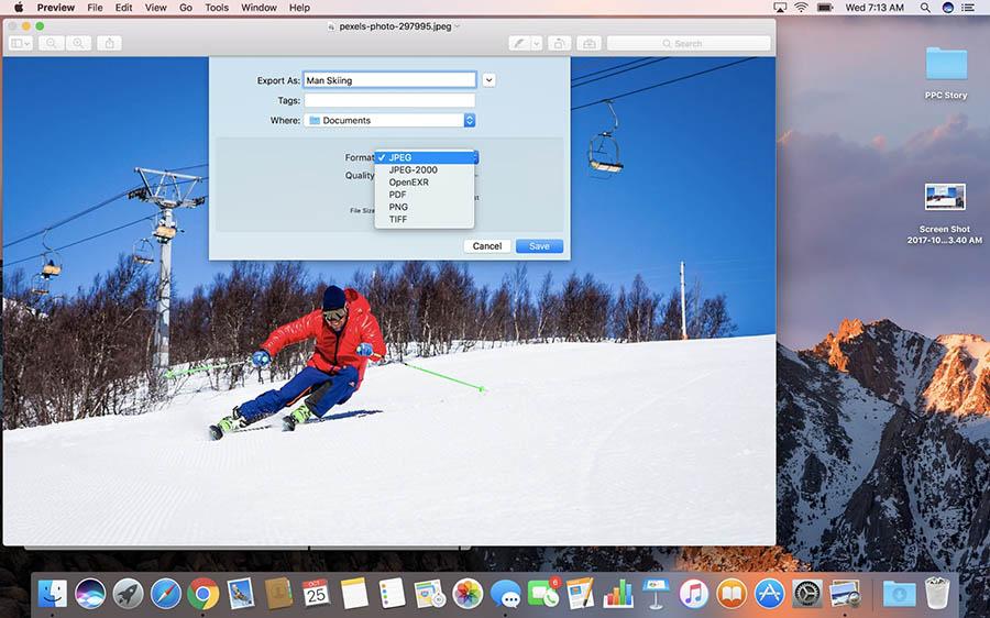 JPEG image tool