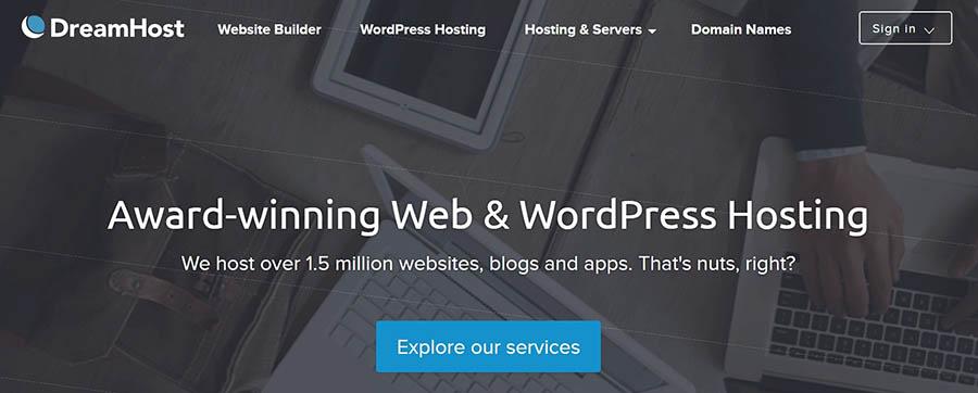 award-winning web & wordpress hosting