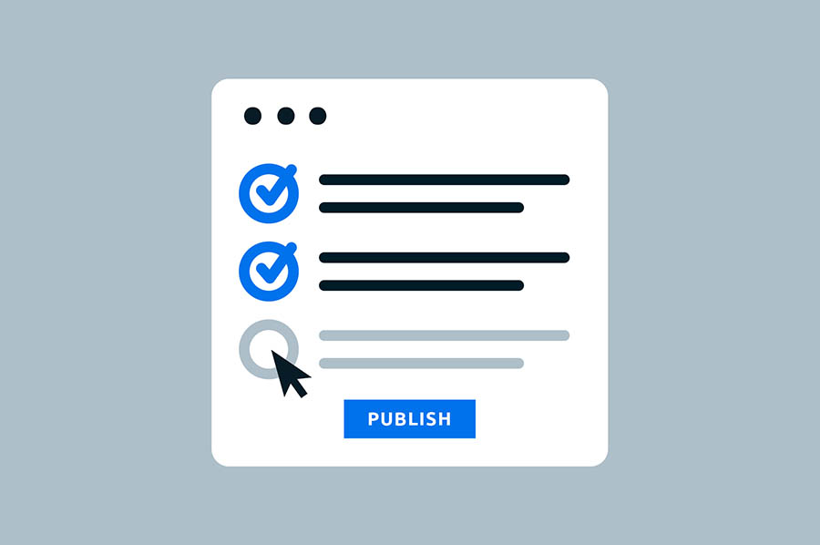 the wordpress blogger checklist 10 things to do before hitting