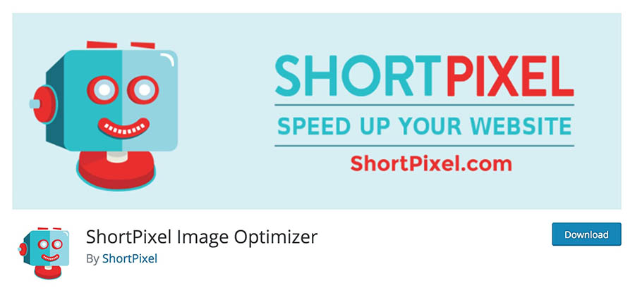 The ShortPixel plugin.
