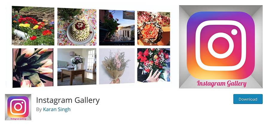 The Instagram Gallery plugin.