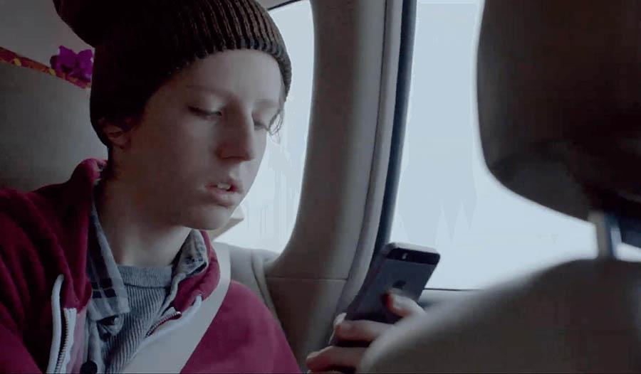 Screenshot of the 'Misunderstood' short film by Apple.