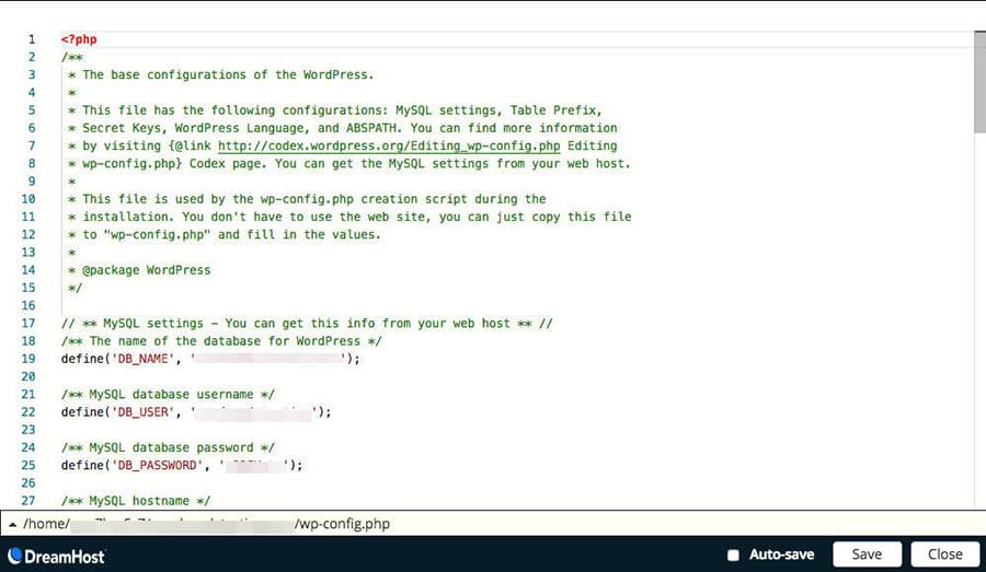 A WordPress style.css file.