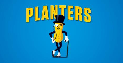 The Planters' mascot.