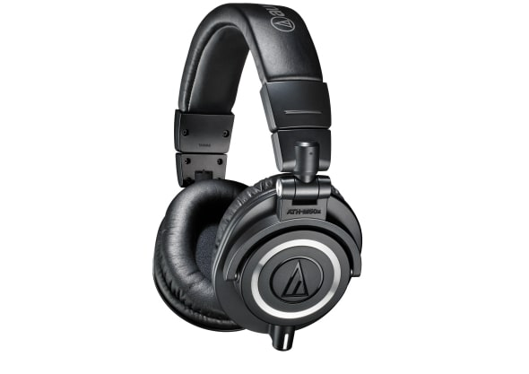 The ATH-M50x headphones by Auto Technia.