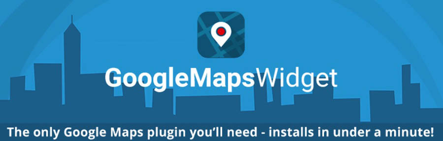 The Google Maps Widget plugin.