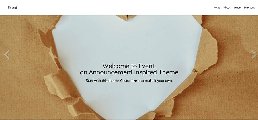 "Remixer's ""Event"" template."