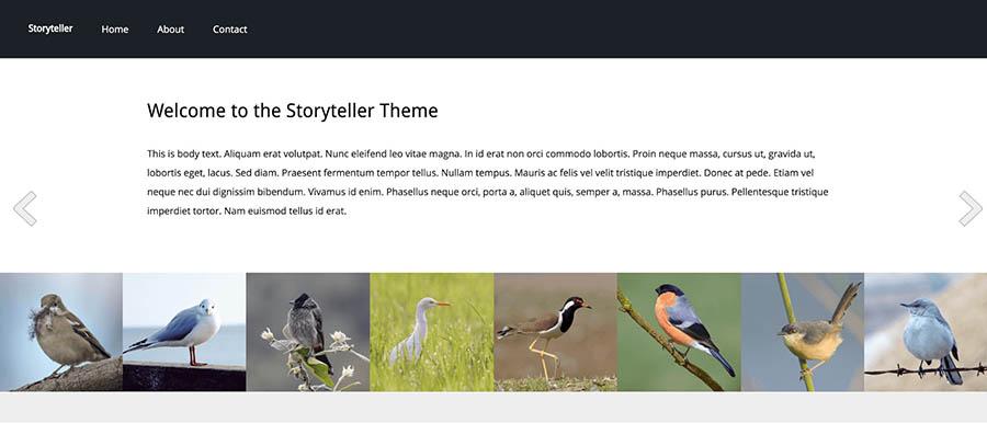 """Remixer's """"Storyteller"""" template."""