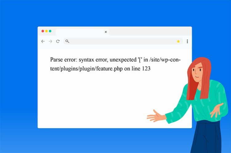 Cómo arreglar errores de sintaxis en WordPress thumbnail