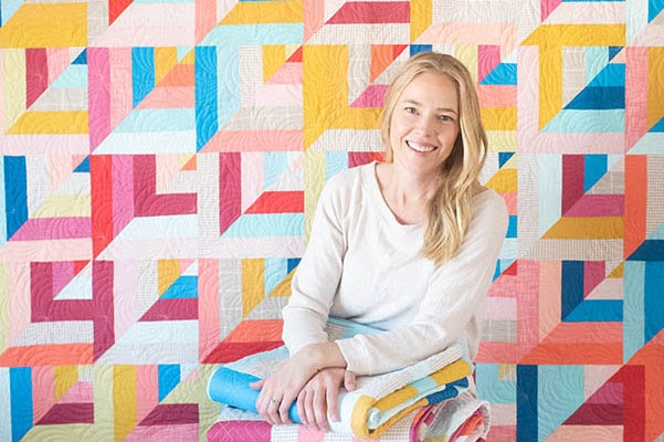 From Blog to Biz: Quilty Love Crafts Bright, Modern Quilt Designs thumbnail